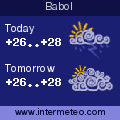 Weather forecast for Babol