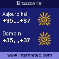La meteo sur Brazzaville