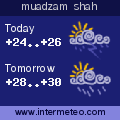 Weather forecast for muadzam shah