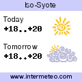 Weather forecast for Iso-Syote