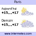 La meteo sur Paris