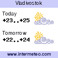 Weather forecast for Vladivostok
