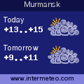 Weather forecast for Murmansk